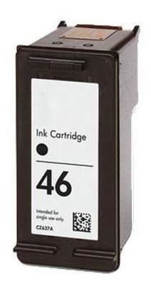 cartucho de tinta hp 46 negra