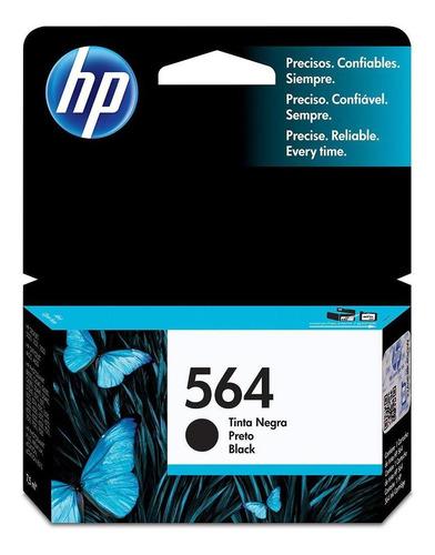 cartucho de tinta hp 564 negra original cb316wl