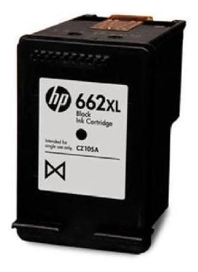 cartucho de tinta hp 662xl negra