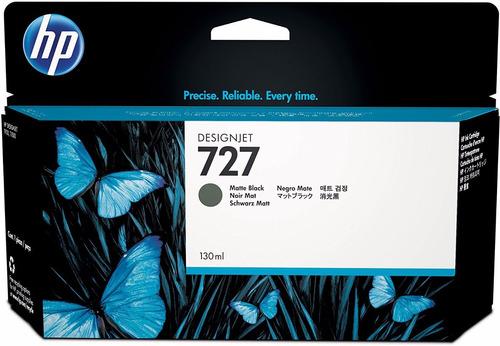 cartucho de tinta hp 727 negro mate  b3p22a original