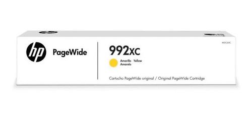 cartucho de tinta hp 992xc amarillo pagewide