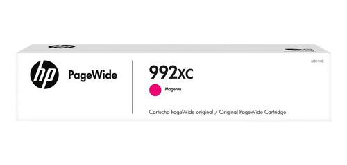cartucho de tinta hp 992xc magenta pagewide
