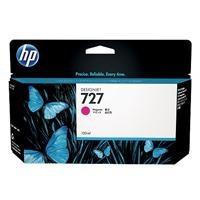 cartucho de tinta p/plotter hp 727 magenta 130 ml b3p20a