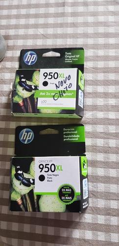 cartucho de tinta preta 950 xl (dois)