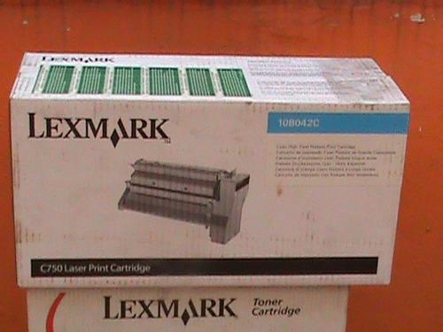 cartucho de toner 10b042c  lexmark c750