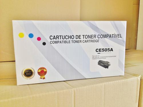 cartucho de toner compatível: ce505a/cf280a
