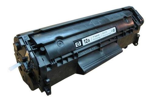 cartucho de toner hp 12a negro original laserjet q2612a