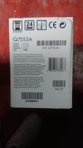 cartucho de toner hp-53a q7553a