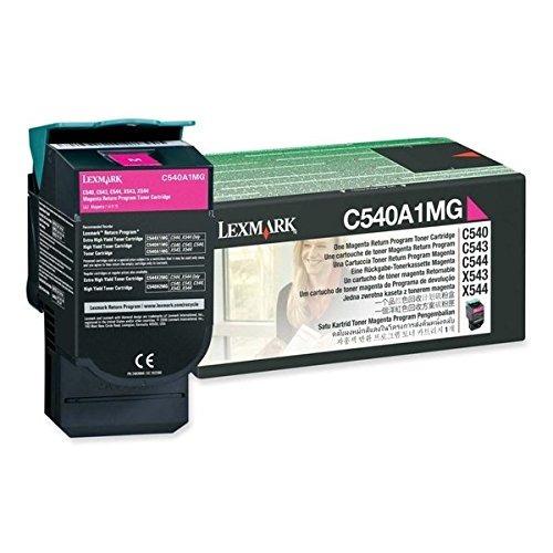 cartucho de tóner magenta lexmark c540a1mg c54x / x543 / x5