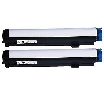 cartucho de tóner negro excelente 2 pk 43502301 para okidata