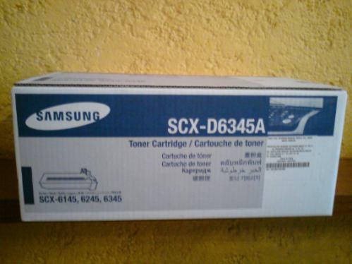 cartucho de toner nuevo para samsung scx-6345