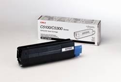 cartucho de tóner oki negro (c5100n/c5150n/c5200n/c5300n)