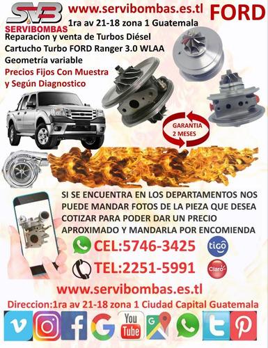 cartucho de turbo ford ranger 3.0 wlaa  geometría variable g