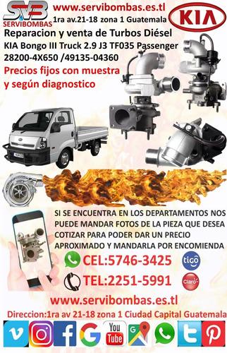 cartucho de turbo kia bongo 3 truck 2.9 j3 tf035 passenger 4