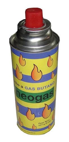 cartucho descartable gas butano 227 grs neogas 11129/2 mm