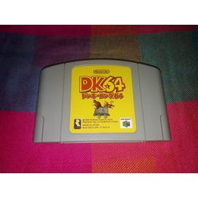 Cartucho Donkey Kong 64 Original Nintendo 64 Japonês