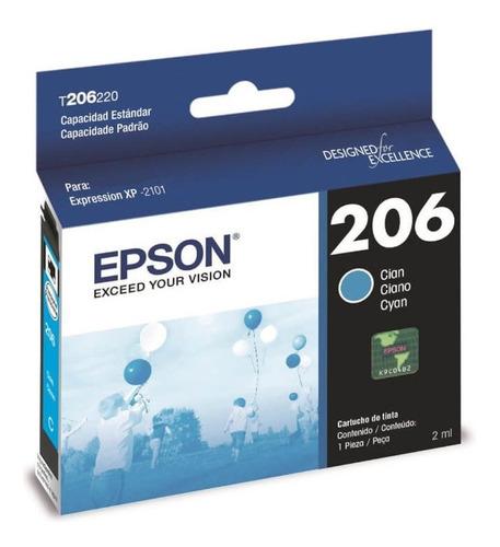 cartucho epson 206 t206 color xp 2101 original