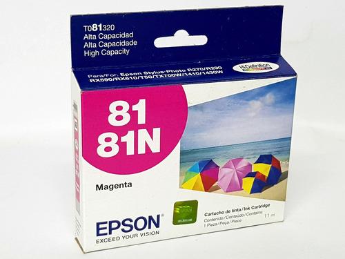 cartucho epson 81 81n - t081320 - magenta