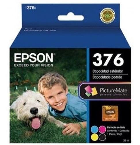 cartucho epson picturemate pm525 - 4 cores t376020-al ou 376