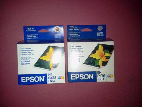 cartucho epson t005011 vencido 900 900g 980n