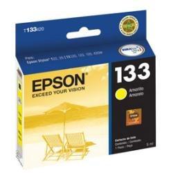 cartucho epson t1334 amarillo para t22, t25, tx120, tx123