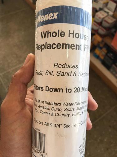 cartucho filtro para filtros de agua