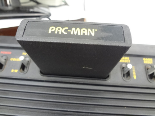 cartucho fita atari original - pac-man (1981) funcionando