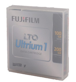 200 GB compressed SEALED Fujifilm Ultrium1 LTO data cartridge 100 GB native