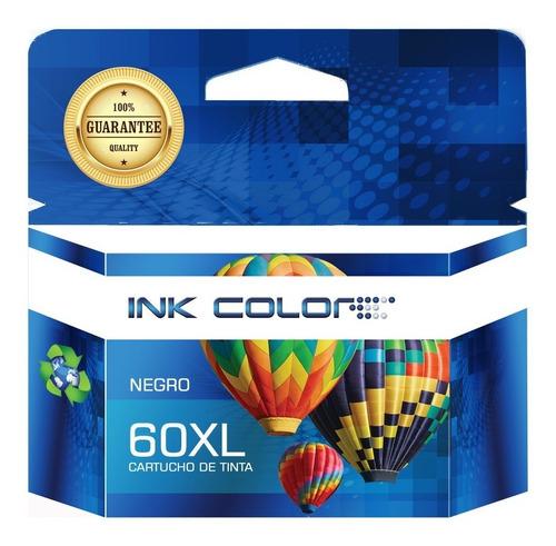 cartucho generico inkcolor 60xl negro