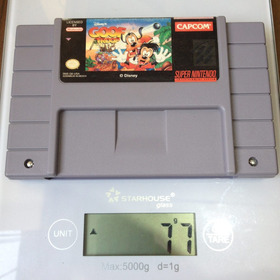 Cartucho Goof Troop Original - Pateta E Max - Super Nintendo