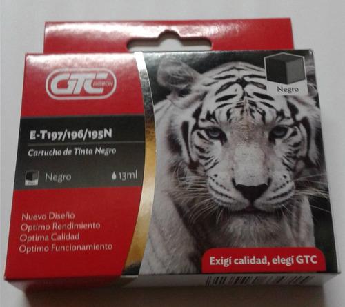 cartucho gtc e-t196 195 cyan p/ epson xp-211 201 temperle