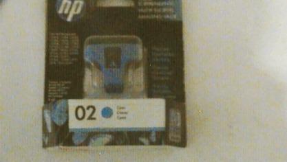 cartucho hp 02 cyan c8771wl original en caja nuevo