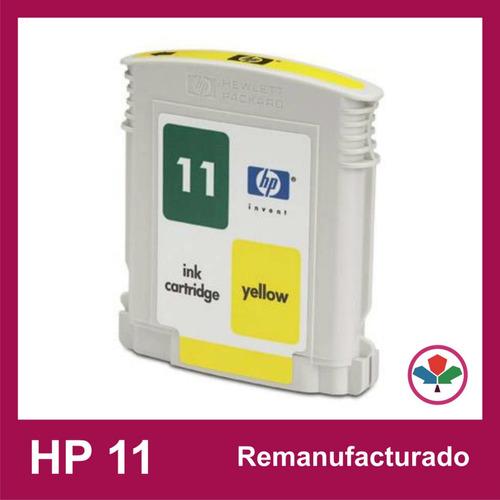 cartucho hp 11 amarillo