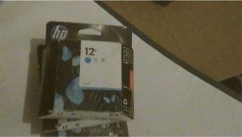 cartucho hp 12 cyan c4804a original nuevo en caja