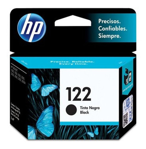 cartucho hp 122 negro original
