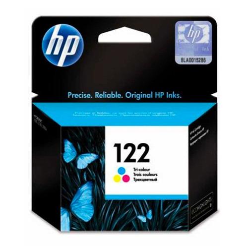 cartucho hp 122 tinta color original impresora 3050 - 2050