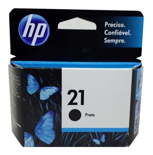 cartucho hp 21 original novo