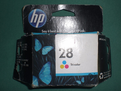 cartucho hp 28 tricolor original