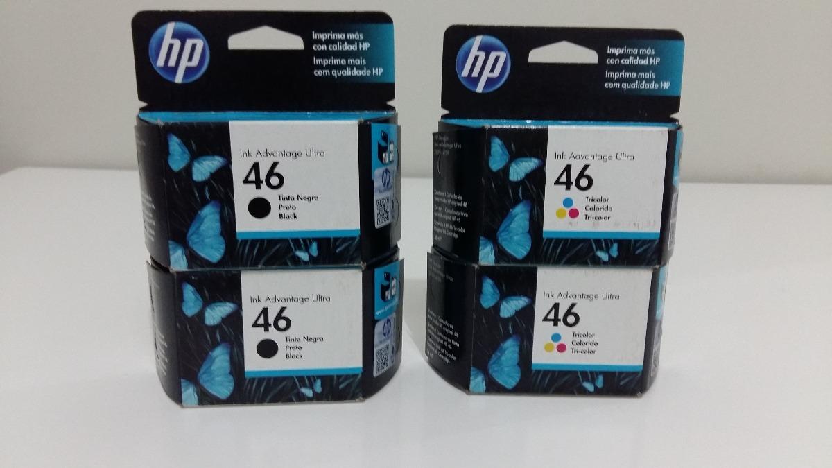 Cartucho Hp 46 Original Vencido R 2800 Em Mercado Livre Tinta Black Colour Carregando Zoom