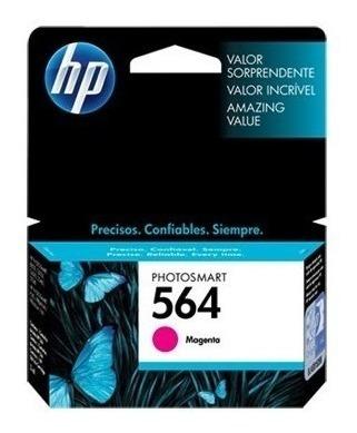 cartucho hp 564 magenta ink cartridge p/photosmart plus