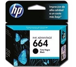 cartucho hp 664 color original