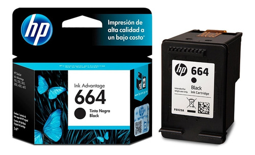 cartucho hp 664 negro + color 2135 2675 3775 + envío backup