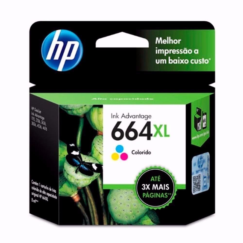 Cartucho Hp 664 Xl Color F6v30al Computers Depót Flores - $ 569,00 ...