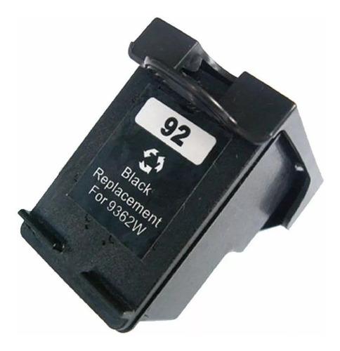cartucho hp 92xl negro alternativo psc 1510 c3180 slot one