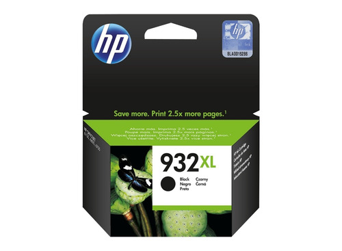 cartucho hp 932xl negro original cn053al 7610 7612 mundoe zn