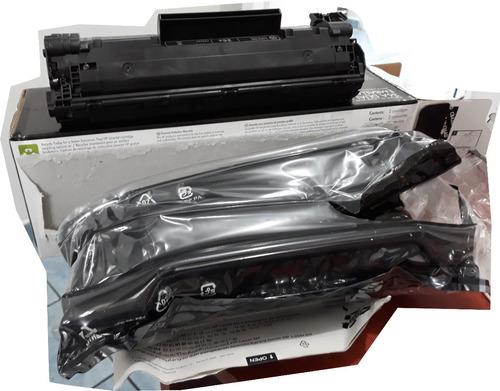 cartucho hp cb436ad - nuevo, abierto garantia