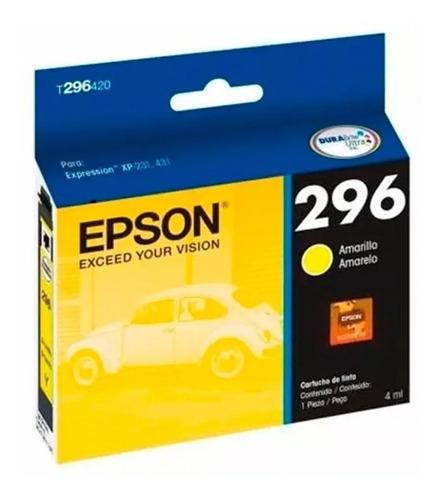 cartucho impresora epson t296 colores original 296