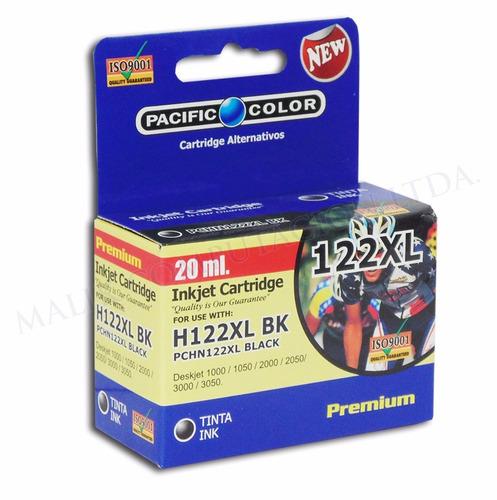 cartucho impresora tinta negro 122xl 20ml premium 1050
