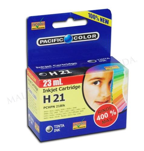 cartucho impresora tinta negro h21 23ml rinde 400% mas