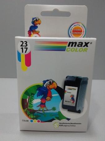cartucho max color mci-2317 para hp x 10 unidades